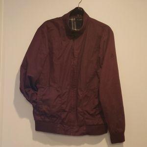 NIXON mens burgundy jacket AR